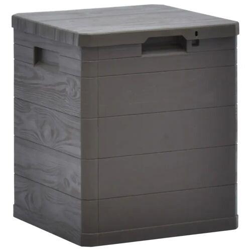 vidaXL Garten-Aufbewahrungsbox 90 L Braun