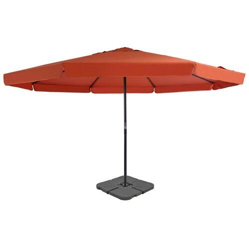vidaXL Sonnenschirm mit Schirmständer Terrakotta-Rot