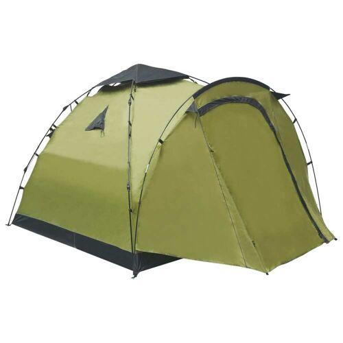 vidaXL Pop-Up-Campingzelt 3 Personen Grün
