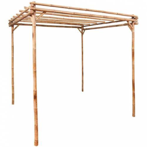vidaXL Pergola Bambus 170×170×220 cm