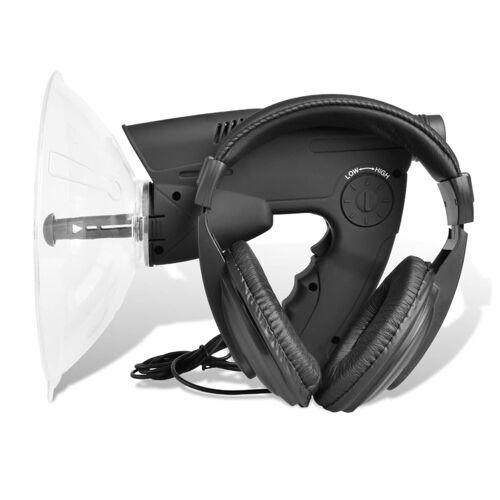 vidaXL Geräuschverstärker Richtmikrofon Abhörgerät Geräte