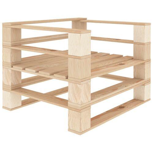 vidaXL Garten-Palettensessel Holz