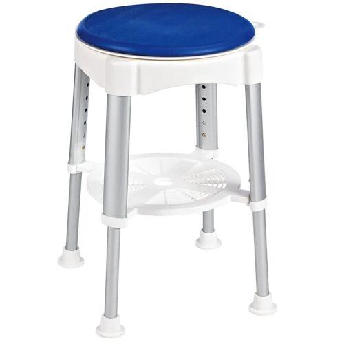 RIDDER Drehbarer Badhocker Blau 150 kg A0050401