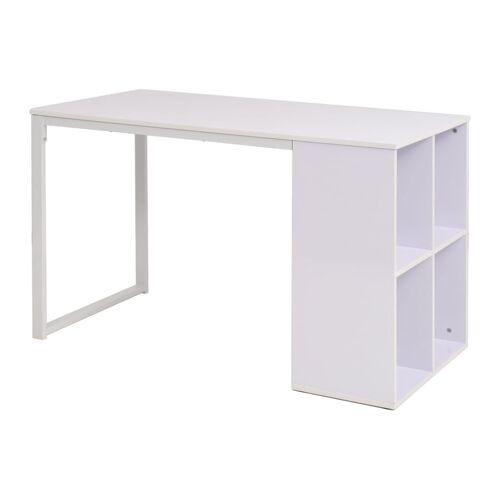 vidaXL Schreibtisch 120×60×75 cm Weiß