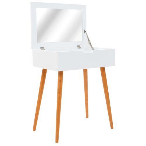 vidaXL Schminktisch mit Spiegel MDF 60 x 40 x 75 cm