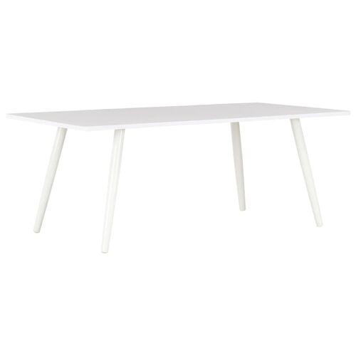 vidaXL Couchtisch Weiß 120×60×46 cm