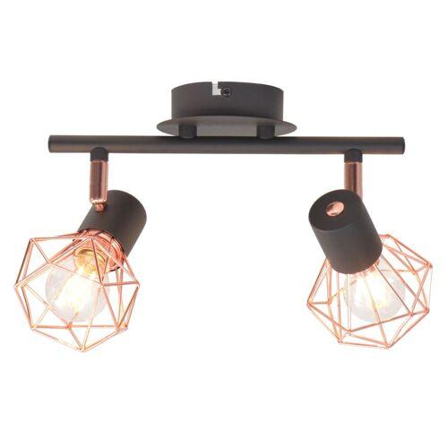 vidaXL Deckenlampe mit 2 LED-Glühlampen 8 W
