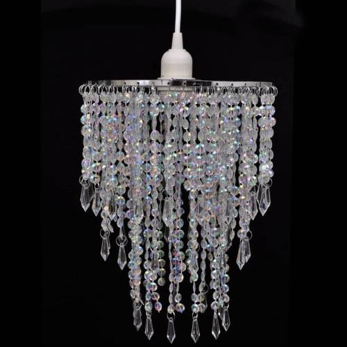 vidaXL Kristall Anhänger Kronlampe 22,5 x 30,5 cm