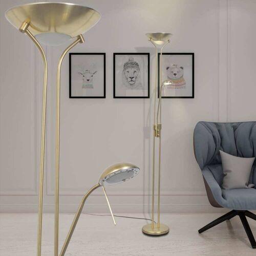 vidaXL Dimmbar LED Stehlampe 23 W