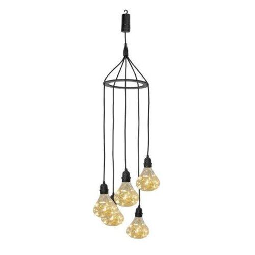 Luxform Akku-LED-Gartenlampe Bubbles