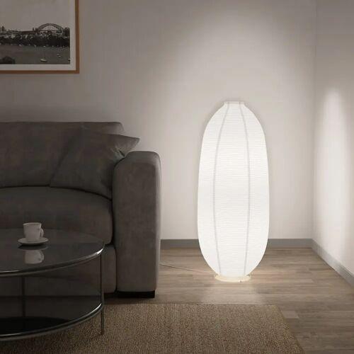 vidaXL Stehlampe Weiß E14