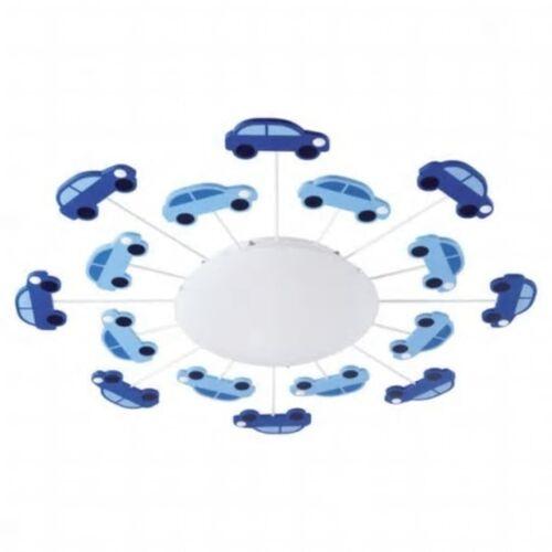 EGLO Wand- und Deckenleuchte VIKI 1 Blau 92146