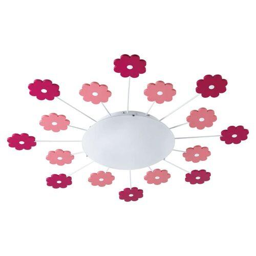 EGLO Wand- und Deckenleuchte VIKI 1 Pink 92147