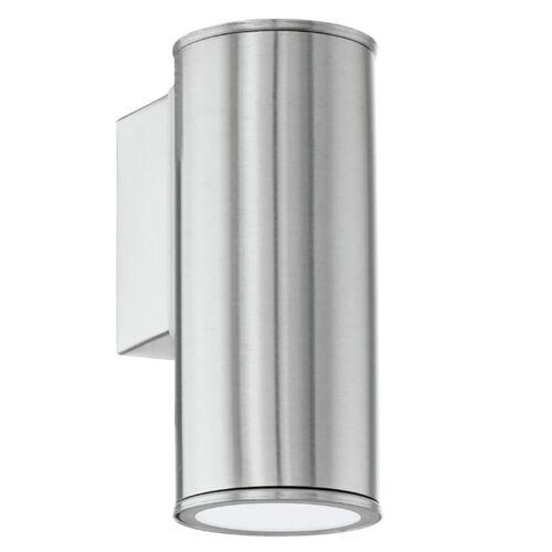 EGLO LED-Außenwandleuchte Riga Silber 94106