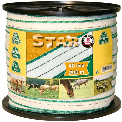 Kerbl Weidezaunband Star PE 200 m 40 mm 441503