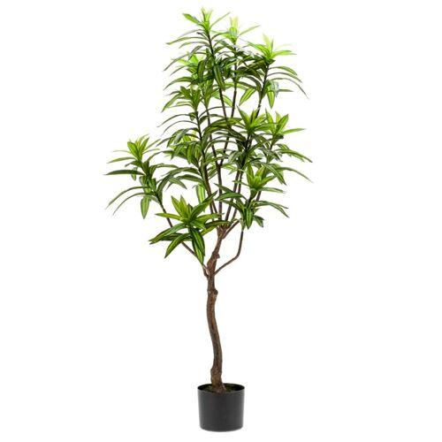 Emerald Kunstpflanze Drachenbaum Grün 130 cm 419843