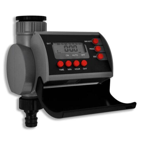 vidaXL Bewässerungscomputer Zeitschaltuhr Digitalanzeige