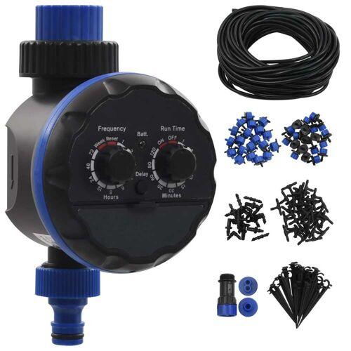 vidaXL 142-tlg. Tropfbewässerungsset Automatisch mit Bewässerungstimer