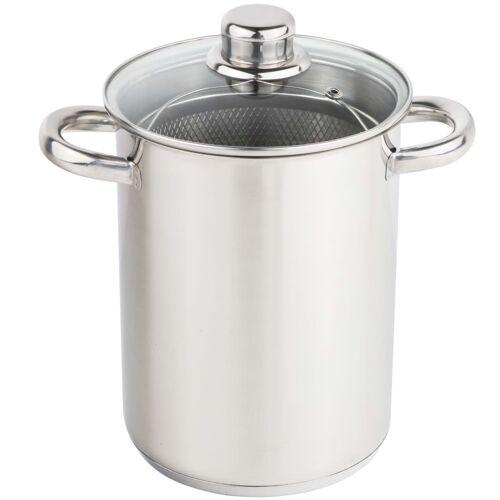 HI Spargeltopf 4 L Silber