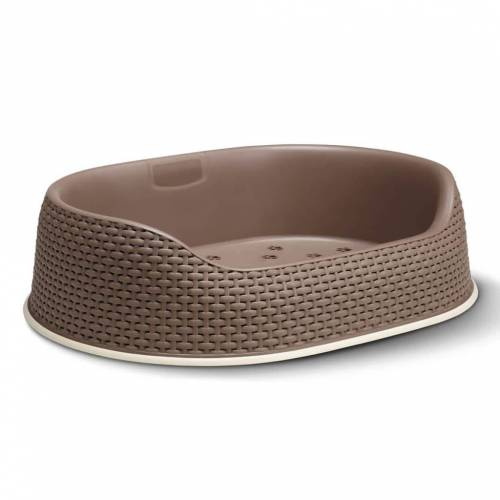 Curver Hundekorb 67x49x16 cm Mokka 700330