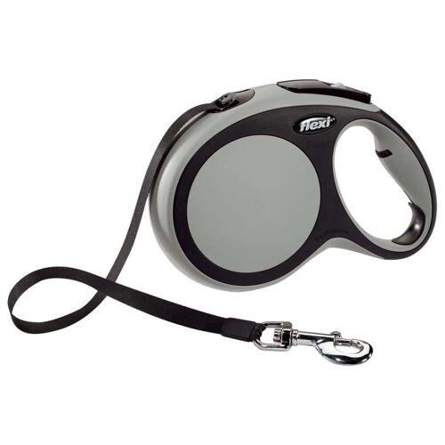 Flexi Gurt-Hundeleine New Comfort Größe L 8 m Grau 21371