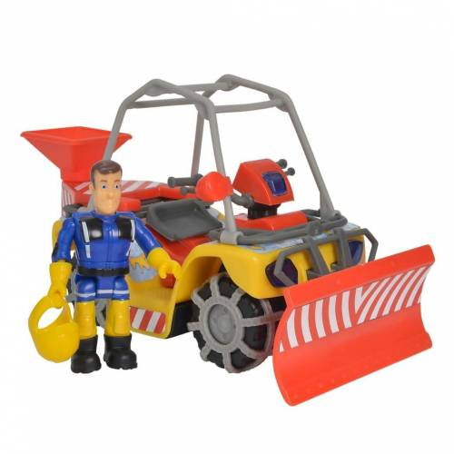 Simba Spielzeug-Schnee-Quad Winter Merkur mit Fireman Sam