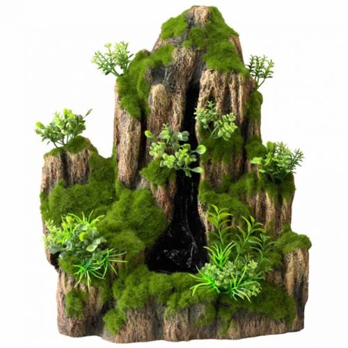 Aqua d'ella Aquarium-Wasserfall Moss Rock 1 Austritt klein 234/434963