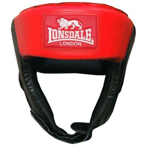 LONSDALE Offener Jab-Kopfschutz M Rot