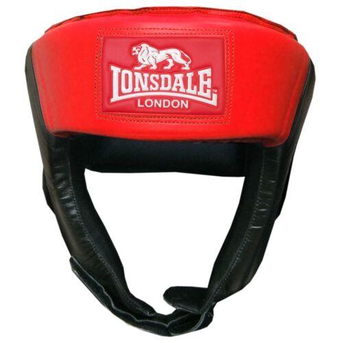 LONSDALE Offener Jab-Kopfschutz L Rot