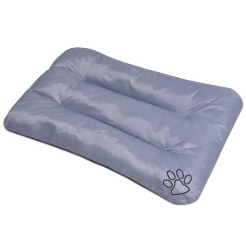 vidaXL Hundebett Größe XL Grau