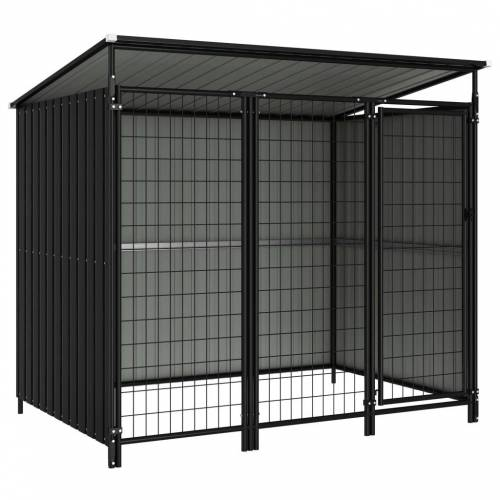 vidaXL Outdoor-Hundezwinger 193×133×163 cm