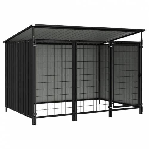 vidaXL Outdoor-Hundezwinger 193×133×113 cm