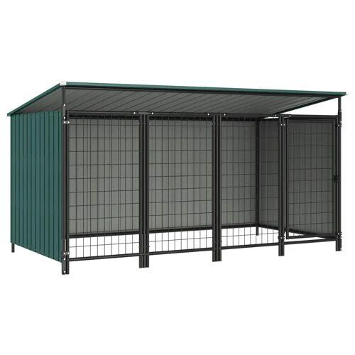 vidaXL Outdoor-Hundezwinger 253×133×113 cm
