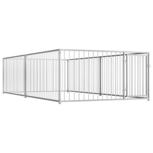 vidaXL Outdoor-Hundezwinger 200×400×100 cm