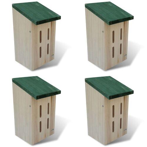 vidaXL Schmetterlingshaus 14 x 15 x 22 cm 4er-Set