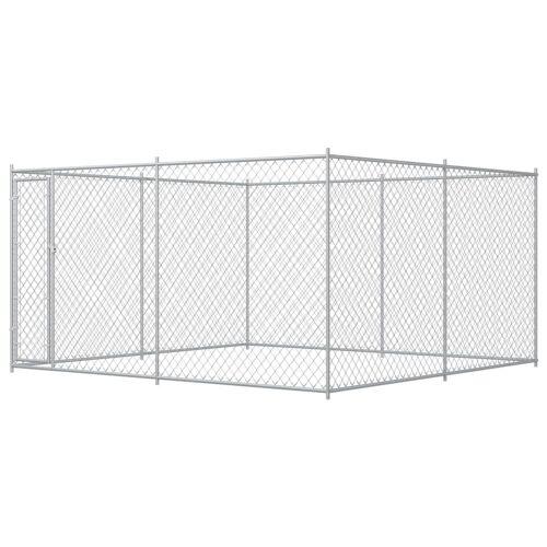 vidaXL Outdoor-Hundezwinger 4 x 4 x 2 m