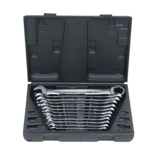 KS Tools KS Ringmaulschlüssel Maulschlüssel 72-Zahn 12-tlg. 8-19mm