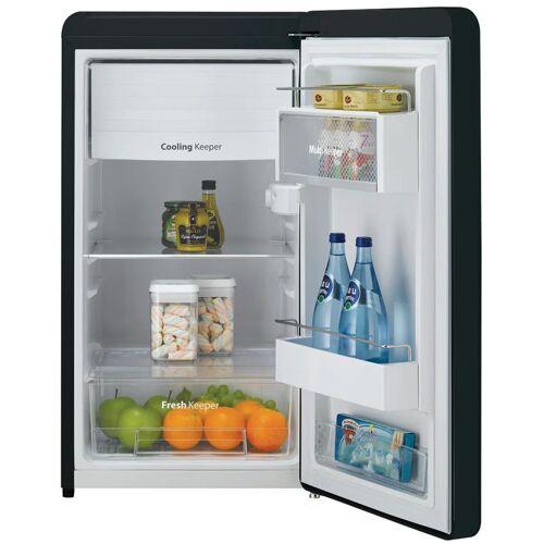 Daewoo Kühlschrank FN153B Retro Schwarz