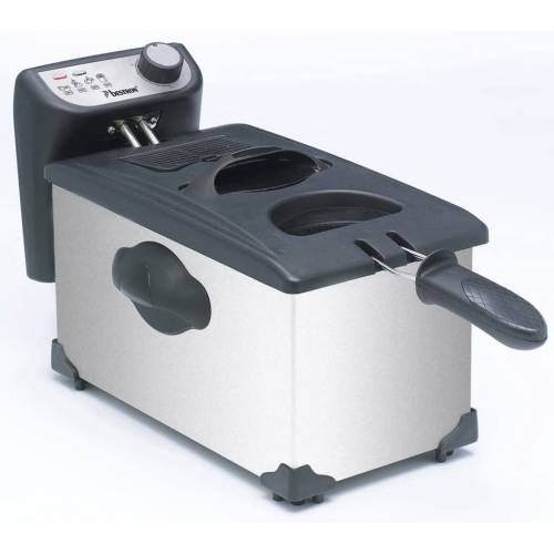 Bestron Fritteuse mit Kaltzone 3,5 L 2200 W AF351