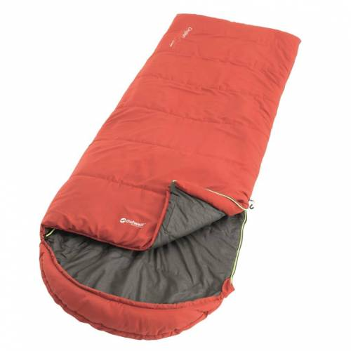 Outwell Schlafsack Campion Lux 225×85 cm Rot