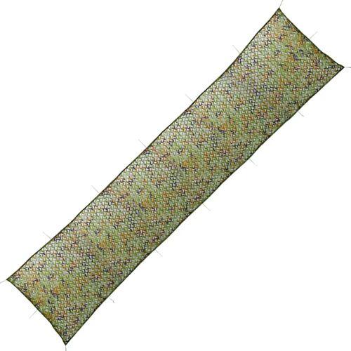 vidaXL Tarnnetz mit Aufbewahrungsbeutel 1,5 x 10 m