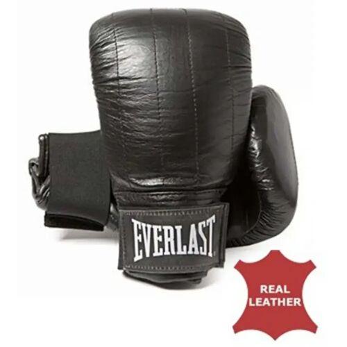 EVERLAST Sandsack-Handschuhe Leder Boston Schwarz S