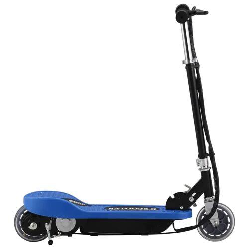 vidaXL Elektroroller 120 W Blau
