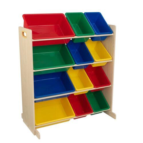 KidKraft Aufbewahrungseinheit Sort It & Store It Grundfarben und Natur