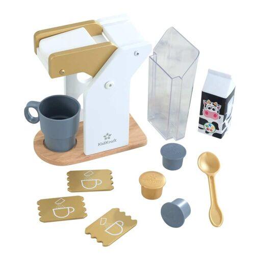 KidKraft 11-tlg. Kinder-Kaffee-Set Modern Metallics