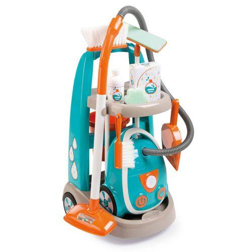 Smoby Spielzeug-Reinigungswagen und -Staubsauger