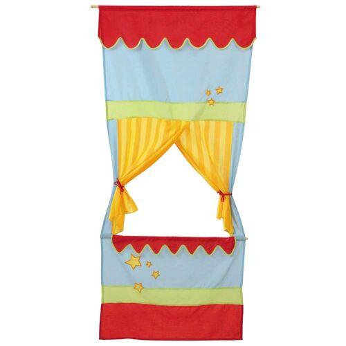 roba Puppentheater für Türrahmen Gelb