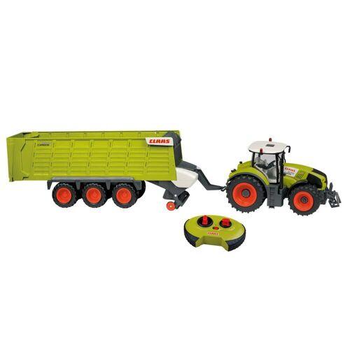 CLAAS Happy People RC Axion 870 Traktor + Anhänger mit Licht 1.16
