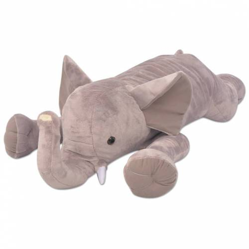 vidaXL Kuscheltier Elefant XXL 120 cm