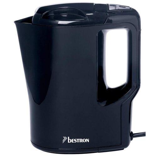 Bestron Wasserkocher 0,9 L 500 W Schwarz AWK810